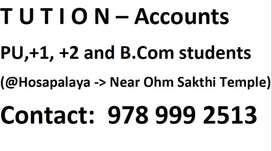 Accounts Tuition