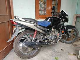 Hero Honda Glamour (black+gray)