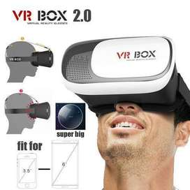 VR BOX 2.0 Virtual Reality 3D Glasses with Bluetooth Gamepad