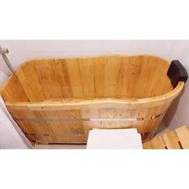 Bathtub Murmer Kayu Handmade