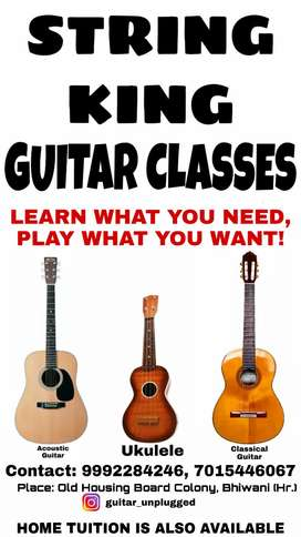 String King Guitar Classes