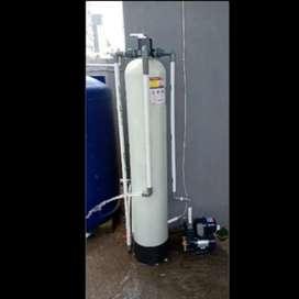 Filter air zat besi / tabung filter air / filter air keruh, bau DLL