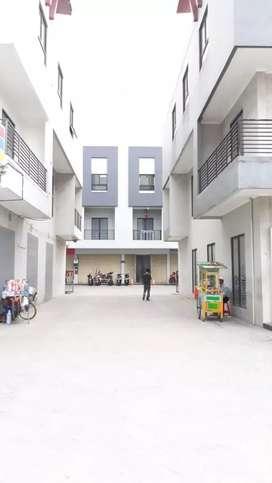 Ruko baru ada 8 unit gandeng disewakan dekat sektor 9 Bintaro Jaya