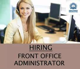 FRONT OFFICE ADMINISTRATOR (MALE OR FEMALE )