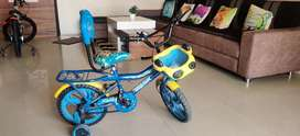 Boys cycle upto 4 years of age
