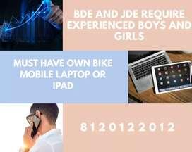 BDE and JDE