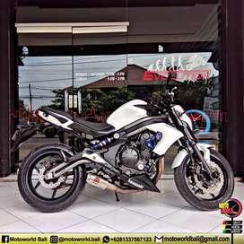 Kawasaki ER-6N White