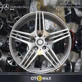 Velg Mobil Mercedes Benz (1173) Ring 17 Gunmetal