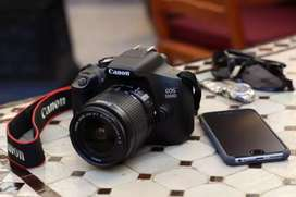 Canon eos 1300d DSLR Camera on Rent