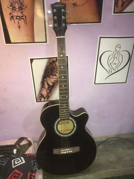 Imported acoustic guitar