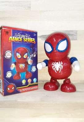 Robot goyang spiderman utk anak