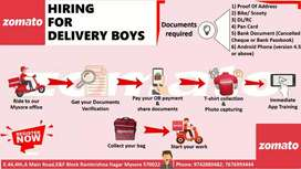 Immediately hiring delivery executives