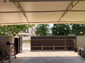 Tensile fabric shed, marquee, Parking shed, canopy, Sun shade, garage