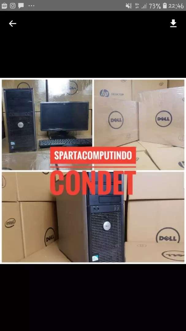 Paket kantor kasir admin Komputer pc core 2 duo ddr3 murah condet 0