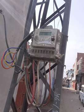 8.5 marla factory for rent industrial metre transformer 3fase