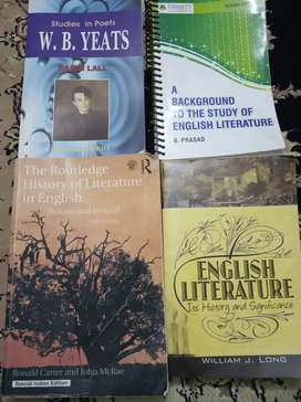 Full course material for MA English Literature