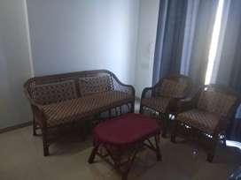 3+2 Cane sofa set