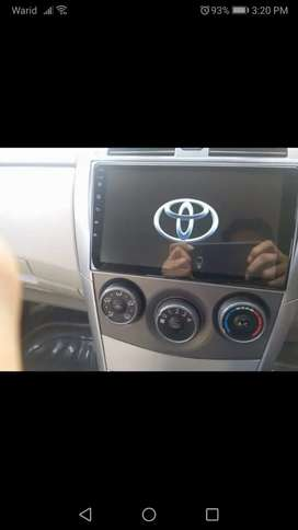 Toyota 2009 Android panel