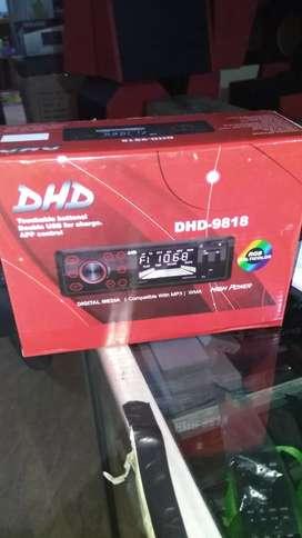 DHD singledin usb bluetooth aux radio # HD Audio Jogja