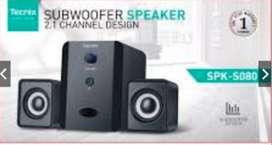 Speaker Bluetooth subwoffer 2.1 CH TECNIX SPK-B080