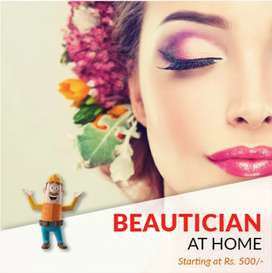 Ladies beauty parlour service at your home