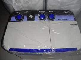 Mesin cuci Aqua 2 tabung