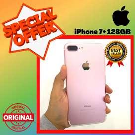 BISA TUKAR - TAMBAH !! SECOND IPHONE 7 PLUS 128 GB - EKS INTER