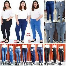 Jeans big size 39 - 42 cewek