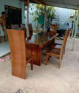 Meja kursi makan clasik