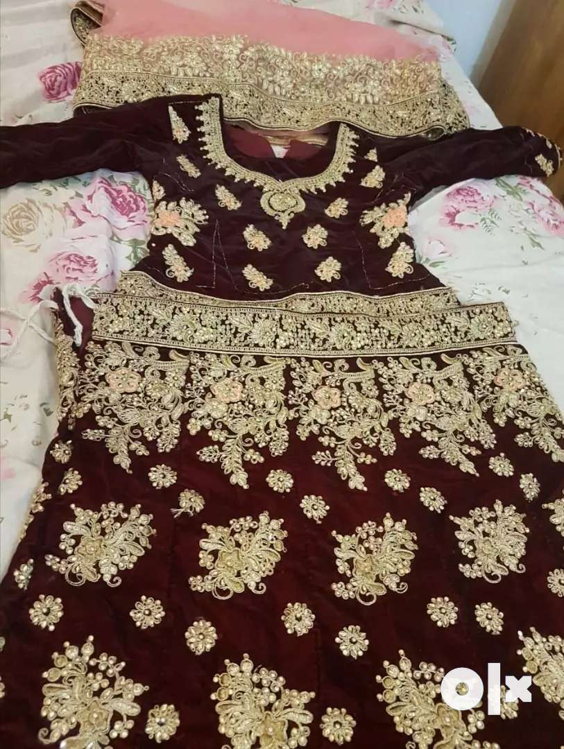 Wedding dress lahanga 0