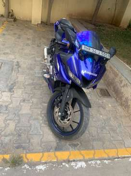 Yamaha R15 model-2018 with sc project exhaust and all other spares