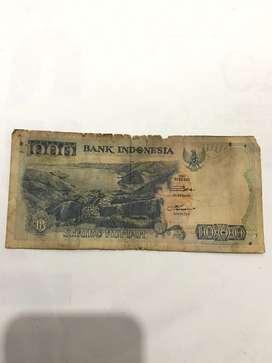 Jual uang 1000 rupiah tahun 1992