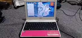 Acer aspire one pink mulus pemakaian
