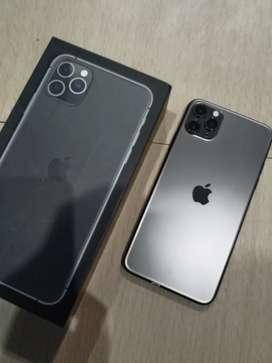 IPhone, IPhone 11 Promax Grey 256GB Fullset !!!