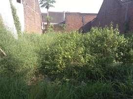 Jual tanah pekarangan SHM ukuran 7×13