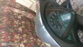 Honda Aviator, Grey color, Dual brake