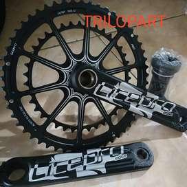 Crank litepro Crankset Litepro Edge AIO ht2 53-39 T