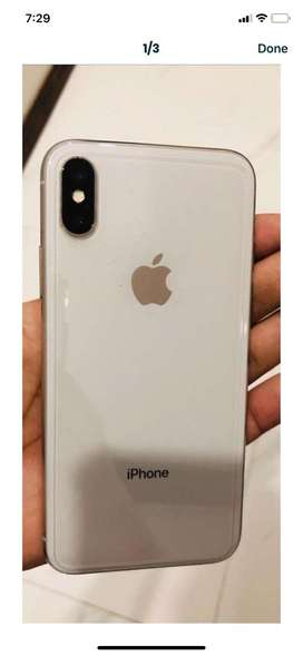 Iphone X ( PTA approved) in perfect condition