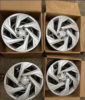 Creta 2021 - 16 inch RIM & Wheel cap for Sale