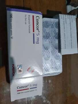Concor 5 mg 1bix