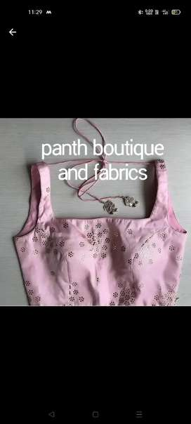 Panth boutique...and fabrics