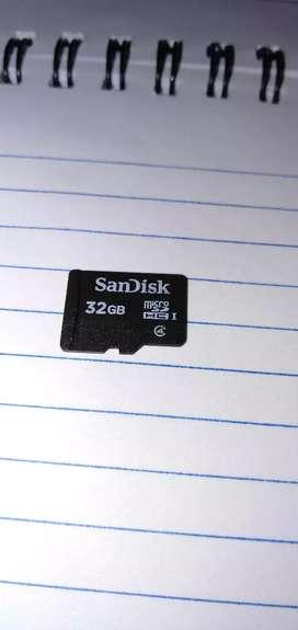 32 GB Memory card 800/-