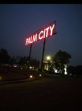 7 Marla Facing park Residential plot in Palm City