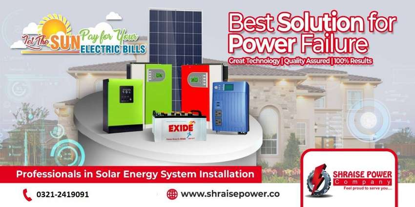 Best Solar System Packages for Homes & Offices 0