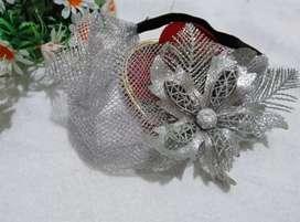 Headpiece jaring pengantin dan pesta