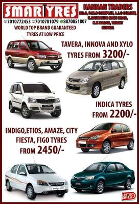 Inova Tavera Xylo tyresTractor tyre new branded