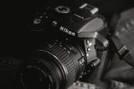DSLR Nikon 5300d and kit lens and 1.8 50mm lens