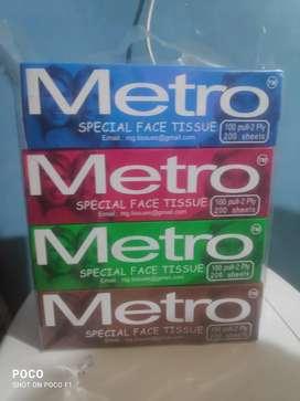 Tissue paper metro