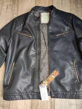 100% Original band new  EDHARDY designer leather jacket