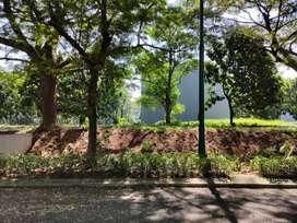 Kavling orchard 350m murah dibawah njop, langka, jalan besar, pool.